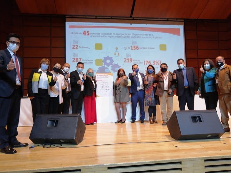 Firma de Acuerdo Laboral 2020 – Secretaria de Integración Social